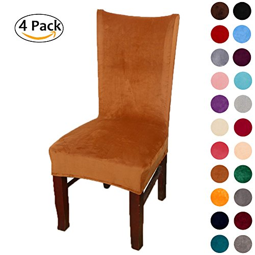 Cheap  Colorxy Spandex Fabric Stretch Dining Room Chair Slipcovers Home Decor Set of..