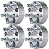 """Wheel Spacers Hubcentric,ECCPP Wheel Spacer Adapters 4PCS 2"""" 5x4.75 to 5x4.75 with Lip M12x1.5 70.5MM Fits Chevrolet S10 Blazer Corvette Camaro Pontiac GTO GMC Jimmy"""