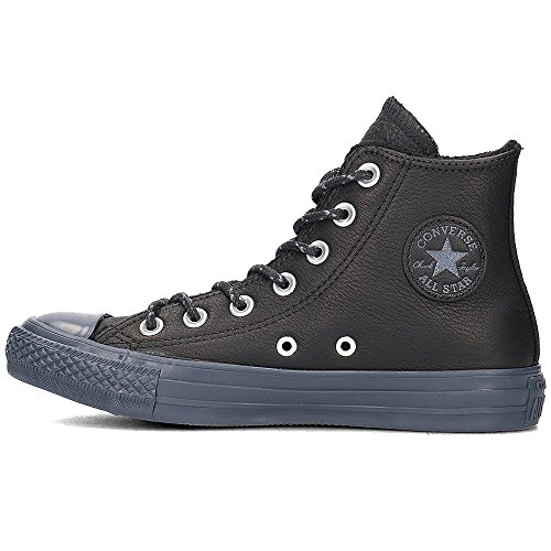 Star Trainers Noir All Taylor Womens Leather Converse Hi Chuck 0UItw