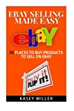 EBay Selling Made Easy: 55 Places To Buy Products to Sell on eBay (eBay Reselling, eBay business, Buy and Sell on eBay, Sourcing products)
