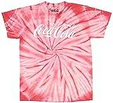 Coca Cola Shirt Mens' Tie Dye Enjoy Coca-Cola Logo T-Shirt (XX-Large)