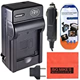 DMWBCG10 Battery Charger Panasonic Lumix DMC-ZS20 Digital Camera + More!!