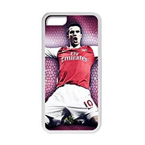TYH - Robin Van Persie White Phone Case for Iphone 4/4s ending phone case