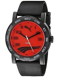 PUMA Unisex PU103201010 Move II Analog Display Quartz Black Watch