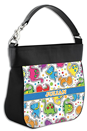 Personalized Front Trim Hobo amp; Genuine Dinosaur Purse w Leather Print Back Hv0aawqg