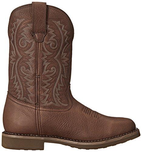 Rocky Boots Stiefel Barntec RKW0126 Wasserdichter Westernreitstiefel Dark Brown (Weite M)