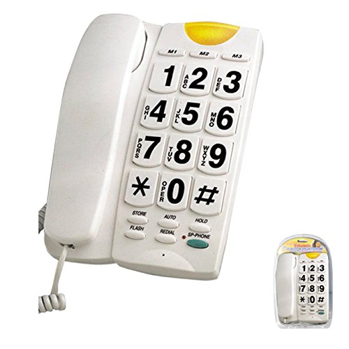 BIG BUTTON PHONE with 10 memory and speakerphone 10 Button Speakerphone
