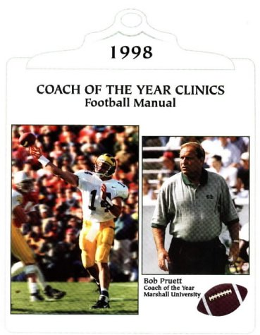 1998 Coach of the Year Football Manual
