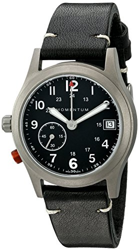 Momentum Unisex 1M-SP61B2B Pathfinder III Analog Display Swiss Quartz Black Watch