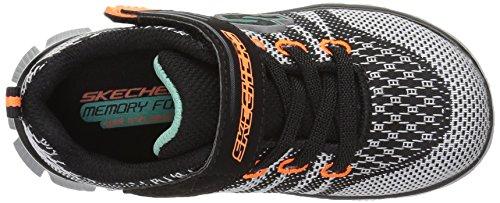 Skechers Kids Flex Sneaker Atletico Mente-mente (bimbo / Bimbo Grosso) Nero / Grigio