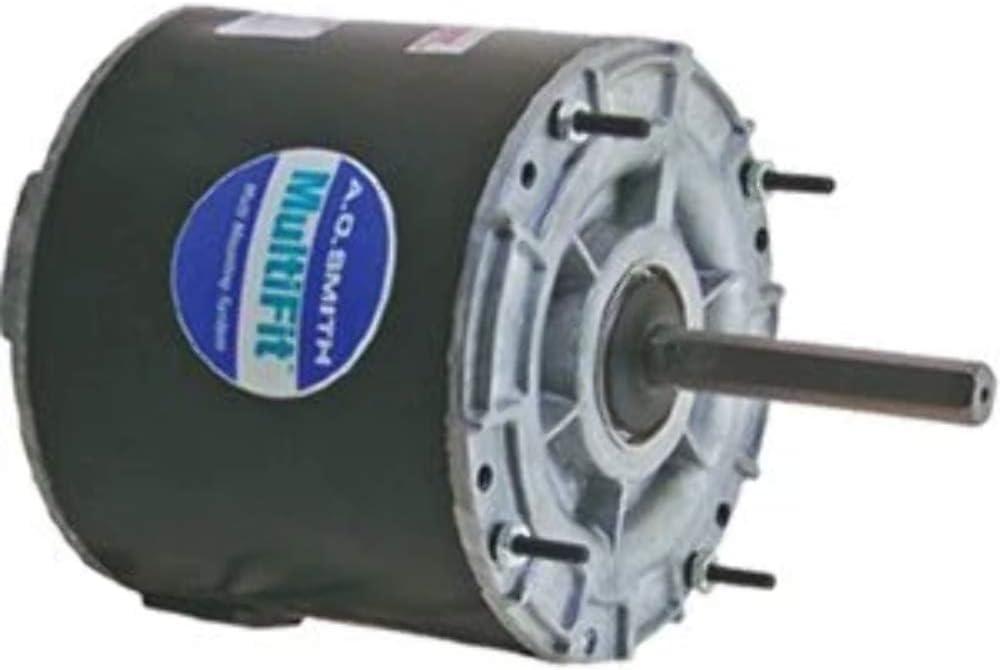 "Century 9722 208/230V 0.9 Amp, 1/8-1/10-1/12 Hp 1,075 RPM SX-0464739 Multifit Condenser Fan Motor, 5"""