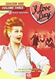 I Love Lucy: Vol. 3, Season 1