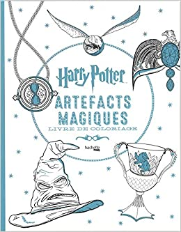 Coloriage Anti Stress Harry Potter.Artefacts Magiques Harry Potter Amazon Fr Collectif Livres