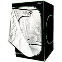 "Ohuhu 48""x 48""x 80"" Growing Tent, Mylar Hydroponic Plant Grow Tent for Indoor Gardening and Germination"