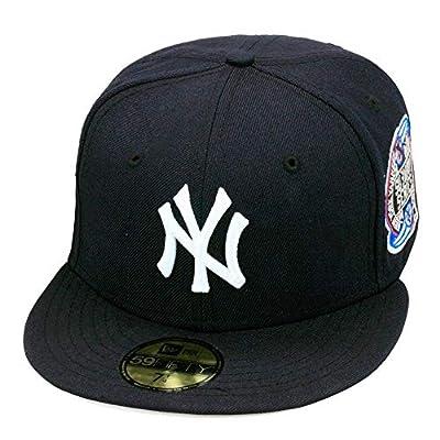New Era 59fifty New York Yankees Baseball Fitted Hat Cap Subway World Series 2000