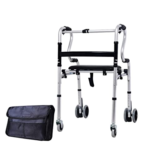 Marco for caminar de 4 ruedas con almohadilla de apoyo for el ...