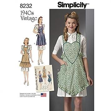 Simplicité pour femme Patron de couture 8232 1940 de ...
