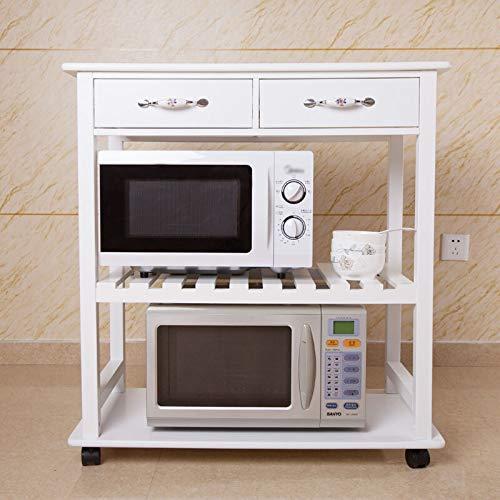DRAGCC Carro de almacenamiento,Rejilla de horno de microondas para ...