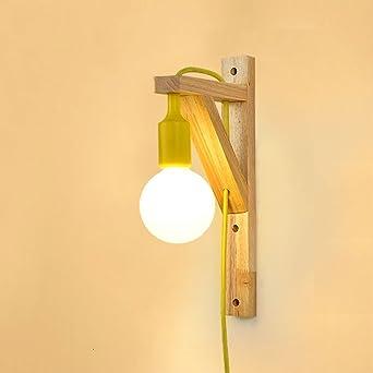 Zhdc Lampe Murale Chambre A Coucher Lampe De Chevet Lampe Murale