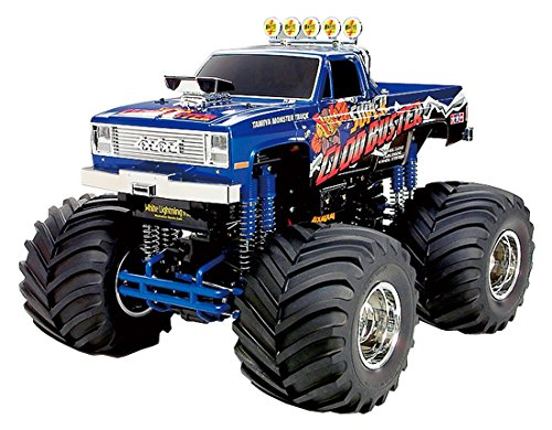 - Tamiya America, Inc 1/10 Super Clod Buster 4WD Monster Truck Kit, TAM58518