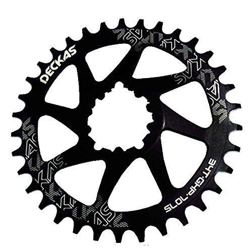 Propenary - GXP bicycle crankset Al 7075 CNC32T 34T Narrow Wide Chainring Chainwheel for Sram XX1 XO1 X1 GX XO X9 crankset bicycle parts [ 36T Black ] B07M8FQVFM