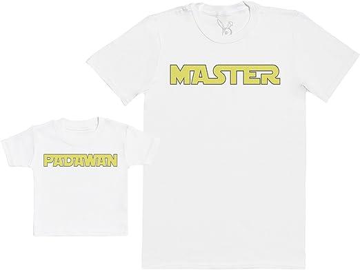 Regalo para Padres y beb/és en un Camiseta para beb/és y una Camiseta de Hombre a Juego XXL /& 3-6 Meses Gris Baby Bunny Superhero Sidekick