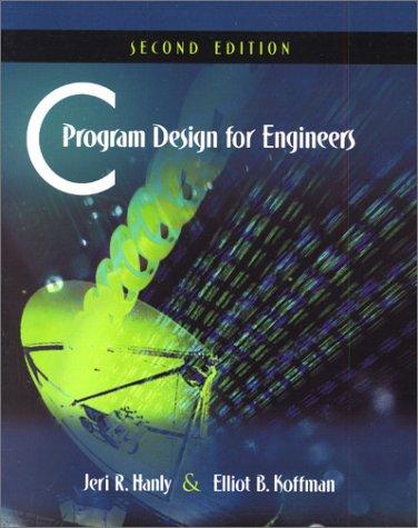 c program design for engineers pdf