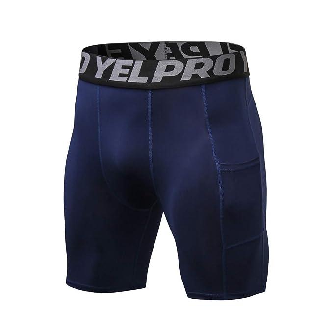 talla 40 96afb 2caee Pantalones Cortos de Compresión de Media Pierna para ...