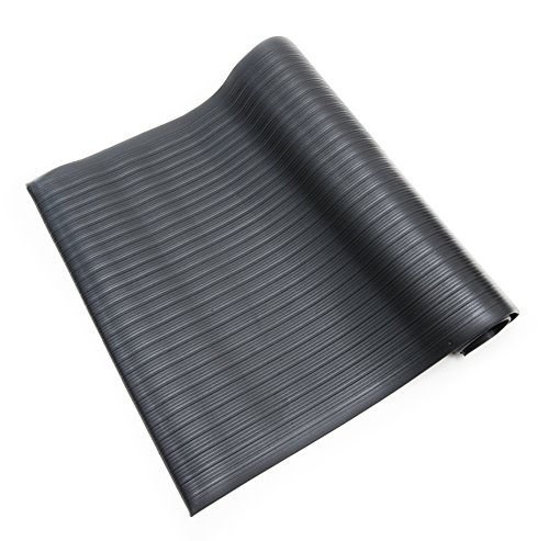 Bertech Anti Fatigue Vinyl Foam Floor Mat, 3' Wide x 5' Long x 3/8