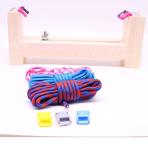 YueYueZou Jig Bracelet Making Kit for Kids Paracord (Paracord Bracelet Holder)