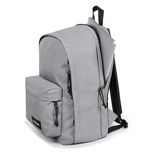 Eastpak Rucksack Back To Work Grau Sunday Grey 43x30x25cm Polyester Stoff mit Laptop fach 15 Zoll Bowatex wlil17Lq