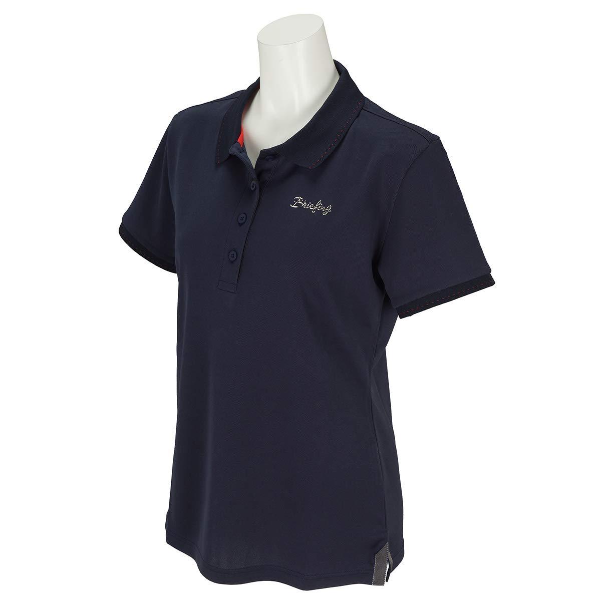 ポロシャツ レディース ブリーフィング ゴルフ BRIEFING ゴルフウェア brg191w07   B07RY4X2V1