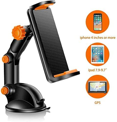 360度回転車の電話マウント、ダッシュボード/ウィンドスクリーンの粘着性のある吸引パッド車のマウント電話ホルダー、携帯電話に最適