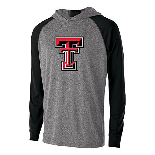 - Ouray Sportswear NCAA Texas Tech Red Raiders Men's Echo Hoodie, Graphite/Black, Large