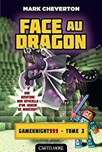Les Aventures de Gameknight999, tome 3 : Face au Dragon par Cheverton