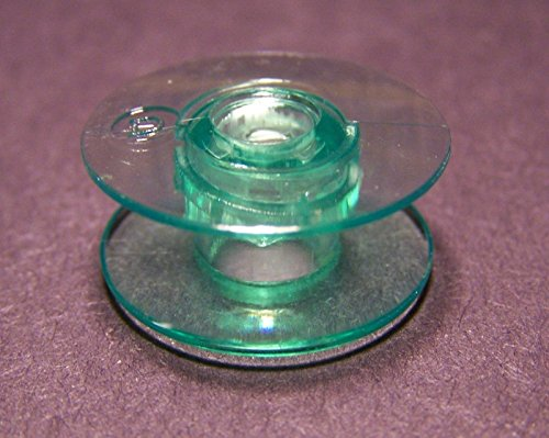 Dejavu House 10 pcs Bobbins Green Replacement for Sewing Machine All 2000, 3000, 6000 series Viking Husqvarna Viking Group (5) Prelude 340, 360, 350, 370, Scandinavia 100