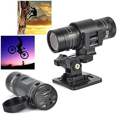 Mengshen Full HD 1080P Mini Deportes DV cámara Bicicleta de ...