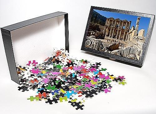 Photo Jigsaw Puzzle of Library of Celsus, Roman ruins of ancient Ephesus, near Kusadasi, Anatolia,