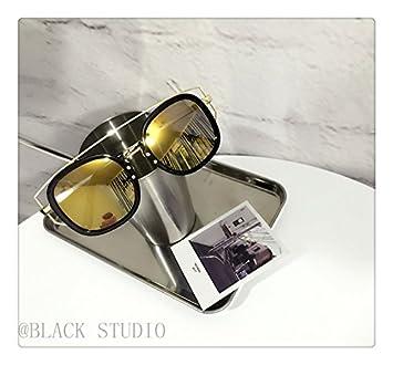 LXKMTXJ Caja grande de video pequeña cara gafas de sol retro ...
