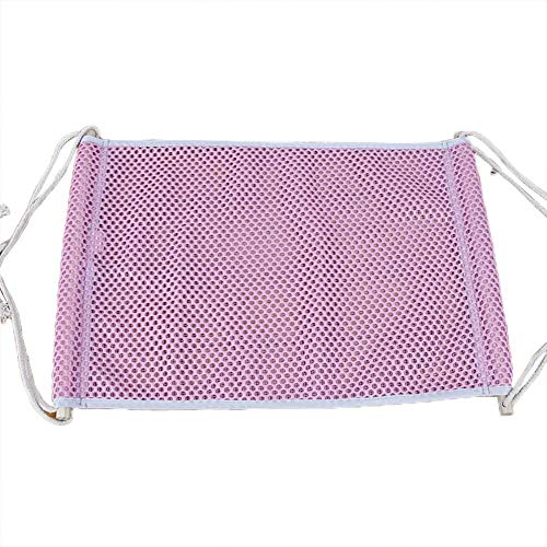 (Cat Hammocks Bed Use with Cage Or Chair, Reversible 2 Sides Small Pet Hammock for Kitten, Ferret,Bunny, Rabbit, Rat Hammock Comfortable Pet Hanging Bed, Soft Sleepy Pad, Sleeping and Resting Hammocks )
