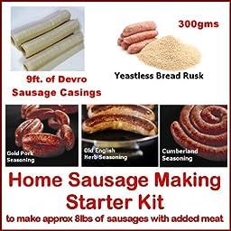 Bonzza British Home Sausage Making Starter Kit.