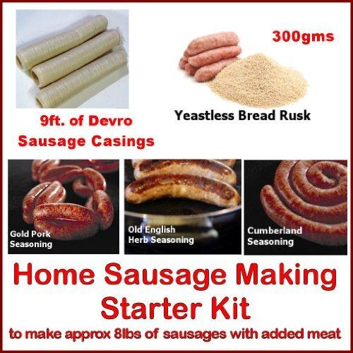 (Bonzza British Home Sausage Making Starter Kit.)