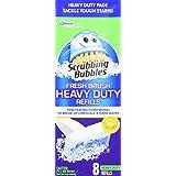 Scrubbing Bubbles Fresh Brush Max Refill-8 Ct