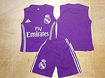 super popular 4ca49 1c6f7 Amazon.com: Real Madrid Baby Clothes for 0-12 Months: Baby