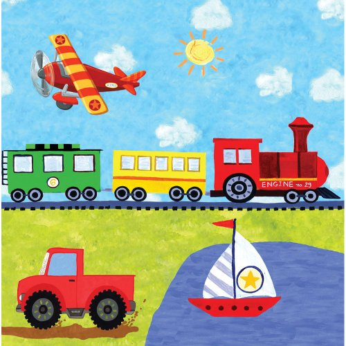 Lunch Napkins Birthday Train Truck