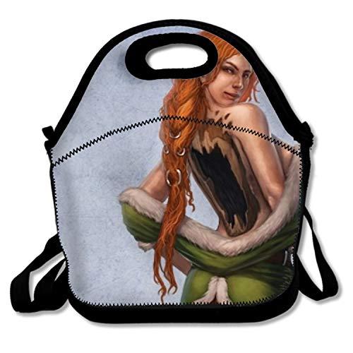 - Blair Louisa Fantasy Women Lightweight Insulated Neoprene Lunch Tote Bag