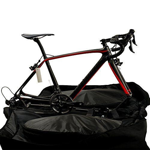 Lixada Automatically Inflatable Pad Bike Transport Travel Bike Carry Bag Nylon Pad Bag for 700C Road Bike by Lixada (Image #1)'