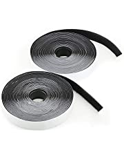 Hook and Loop Tape, LAviaes Double Sided Sticky Tape,5M Heavy Duty Reusable Self Adhesive Hook Loop Tape Roll