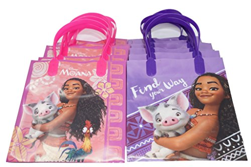 Disney Moana Goodie Bags Favor Gift Birthday 12 Pcs