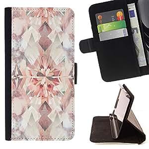 For LG G4 Case , Diseño floral brillante del papel pintado de la vendimia- la tarjeta de Crédito Slots PU Funda de cuero Monedero caso cubierta de piel